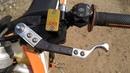 Установка ручки цилиндра сцепления лёгкого выжима Clake One Clutch на KTM EXC F 350