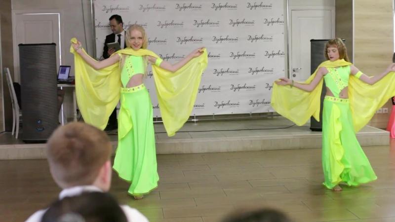 Ангелина и Анастасия Восточные танцы в Уфе Танцы живота Habibi Style Show Уфа