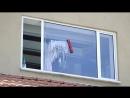 The Glider магнитная щетка для мытья окон! (