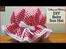 DIY baby Sun Hat Cutting and Stitching in Hindi/Urdu (English Subtitle)