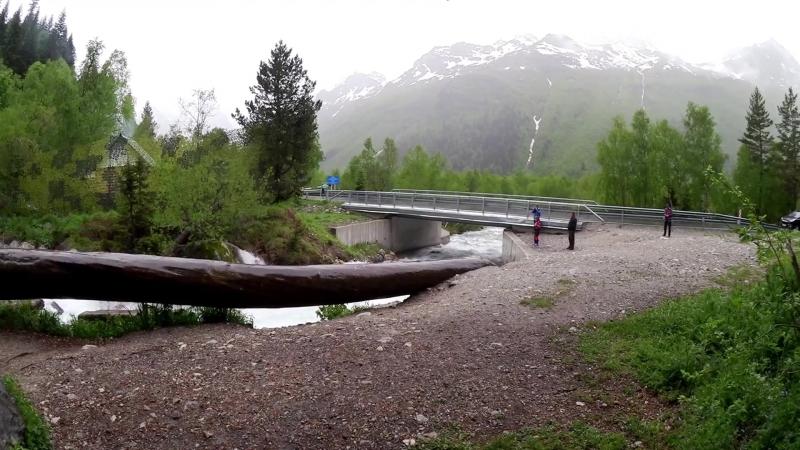 Гоначхирское ущелье,Военно-Сухумская дорога.КЧР