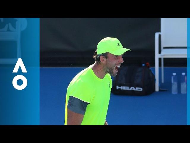 Ivo Karlovic v Yuichi Sugita match highlights (2R) | Australian Open 2018