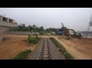 Train Driver record YB4 Yen Bai - Hanoi (2017)