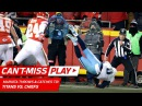 Marcus Mariota Throws a TD to HIMSELF on this Crazy Play! 🦄 | Can't-Miss Play | NFL Wild Card HLs