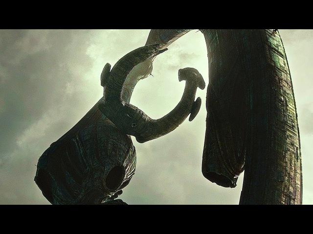 Мои дела, цари, узрите - и отчайтесь! Дэвид уничтожает инженеров Черной Жижой. Чужой: Завет. 2017.