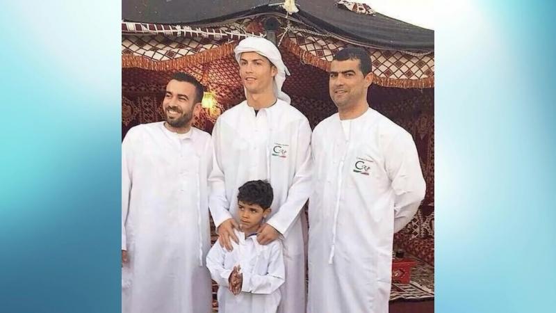 Cristiano Ronaldo wishing Ramadan Mubarak