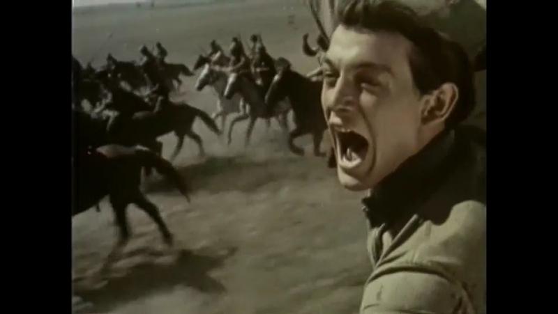 Павел Корчагин (1956) . Бой подразделений 1-й конной армии с поляками и петлюровцами