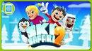 Ski Safari 2 Сноубординг, лыжные гонки и безумные трюки от Свена и Эваны Игры на Sensor Games