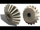 SolidWorks G Tutorial 326: Bevel Gear sketching ( M5.5 T18)