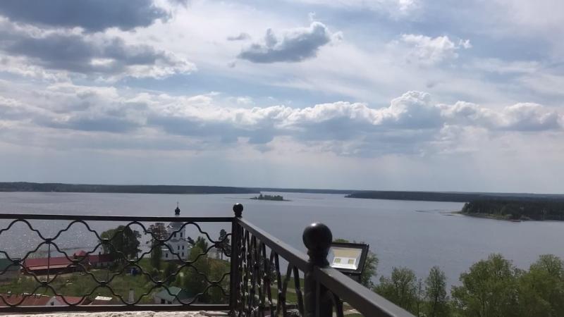 Вид на озёра