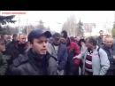 14 апреля 2014 Горловка Хочу обратиться к московским захватчикам засланный казачок евромайдана