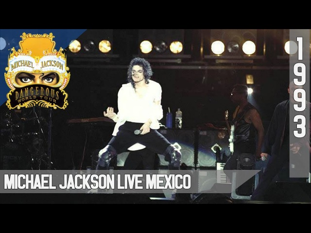 Michael Jackson Live Dangerous World Tour Mexico 1993 50fps(4 songs only)