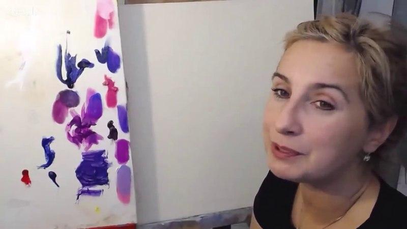 Ольга Базанова - 5 способов написания сирени