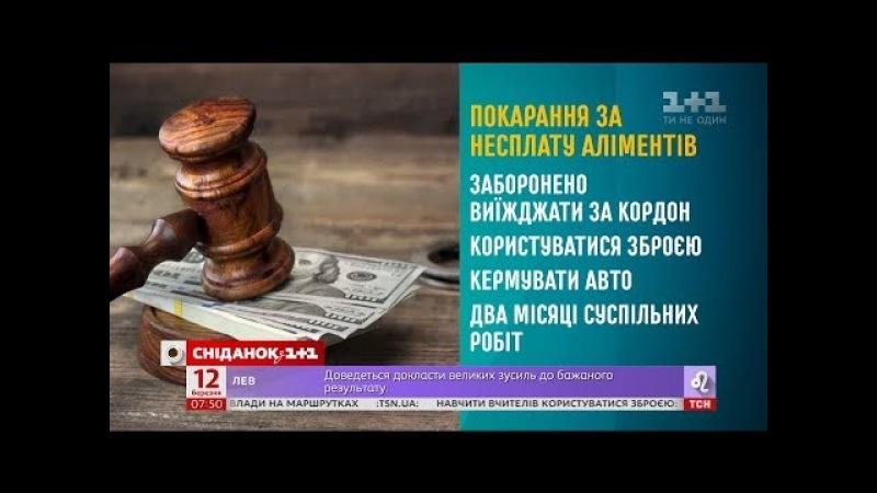 Як працює Закон про аліменти - Начальник Головного територіального управління юстиції у м. Києві
