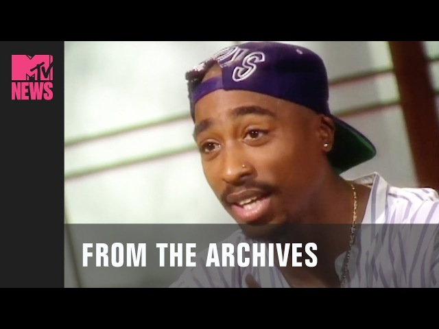 Tupac On The Prospect Of Going To Jail 1993 MTV News TBMTV