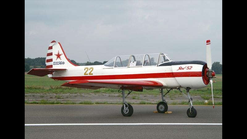 Пилотаж на Як-52. Солист - Валерий Павлович.
