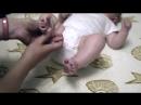 Стопы и ладошки Развивающий массаж новорожденного