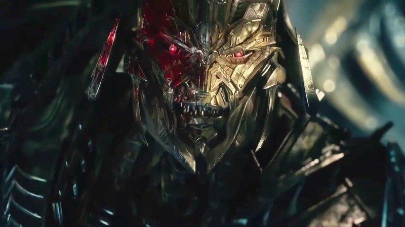 Optimus Autobots VS Megatron - Transformers The Last Knight Fight Scene