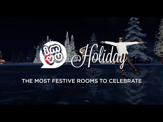 IMVU Holiday 2017: Fun Festive Holiday Chatrooms