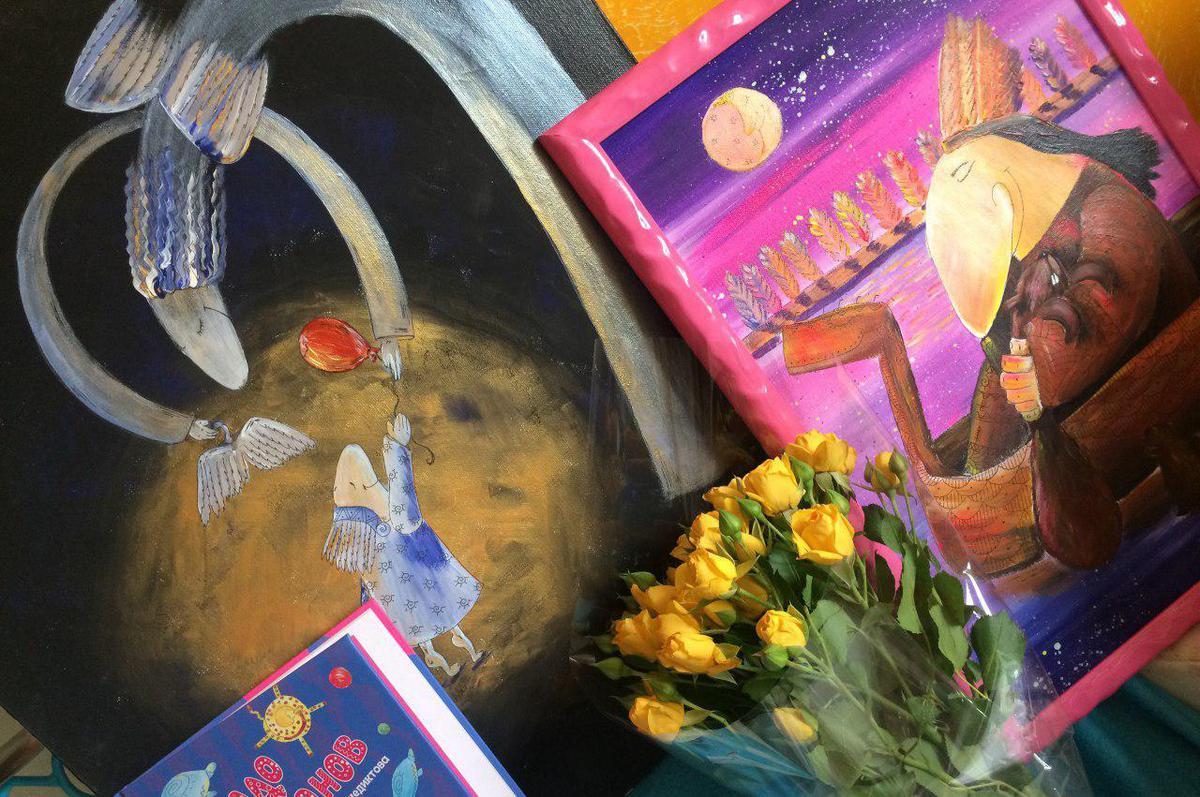 Художница из Дубны проиллюстрировала проект «30 минут жизни ради другой жизни»