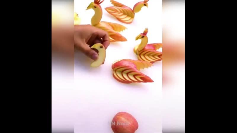 25 ЧУДО трюков с фруктами и овощами