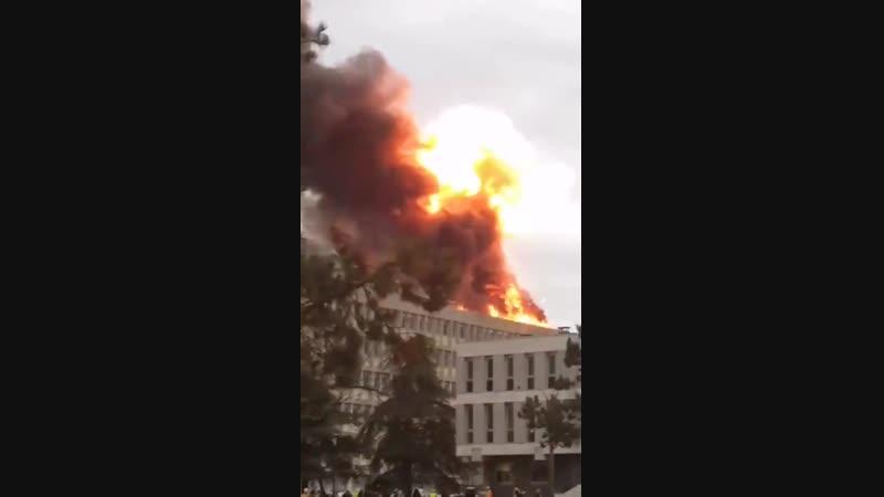 Лионский университет. взрывы