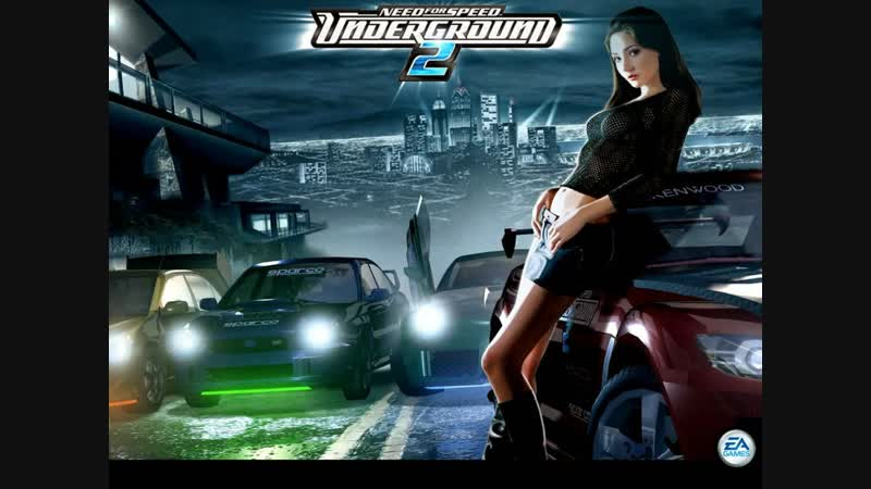 ПОЛУЧАСОВЫЕ НОЧНЫЕ ПОКАТУШКИ : Need for Speed Underground 2