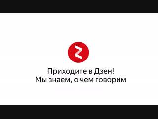 Яндекс.Дзен: Мы знаем, о чём говорим