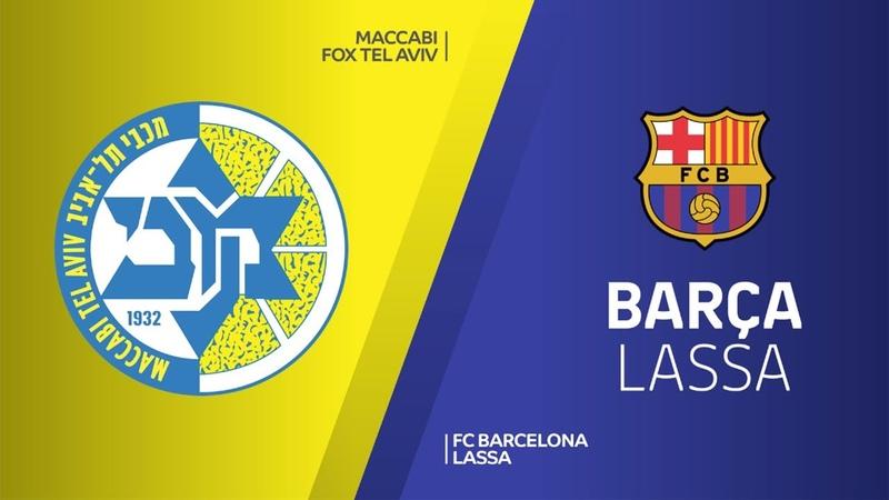 Maccabi FOX Tel Aviv - FC Barcelona Lassa Highlights | EuroLeague RS Round 19