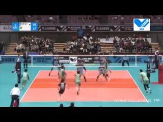 Дмитрий Мусэрский / JT Thunders - Suntory Sunbirds - Final 6 - Japan Volleyball V-League 1