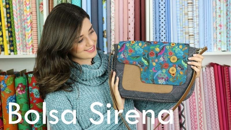 Aprenda uma bolsa LINDA! | Bolsa Sirena | Carol Vilalta