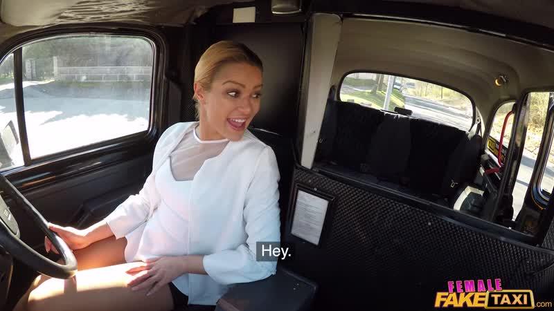 FemaleFakeTaxi - Cherry Kiss, Emily Bright - Cherry shows Emily all the moves [На камеру, New Porn, 2019, HD, Blowjob, POV]