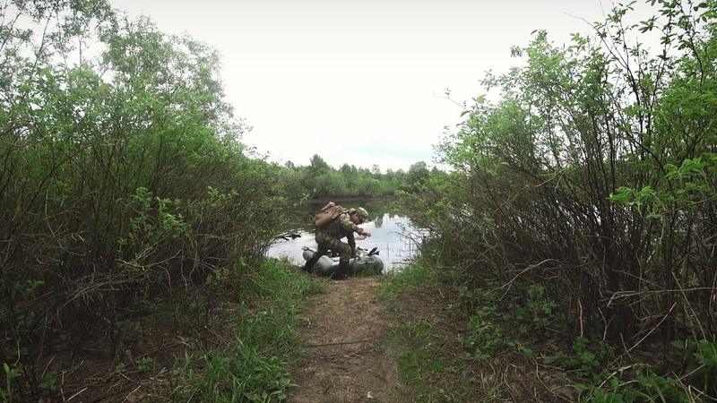 Рыбалка на озере с лодки. Попытка открытия сезона по щуке.