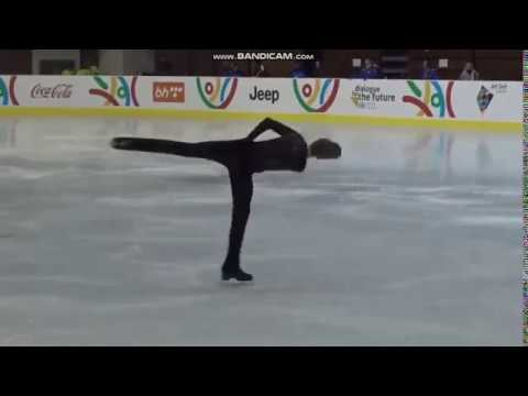 Ilya Yablokov Илья Яблоков SP European Youth Olympic Festival 2019