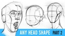 Draw ANY Head Type with the Loomis Method Part 2
