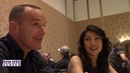 Marvels AGENTS OF S.H.I.E.L.D Roundtable | Clark Gregg and Ming-Na Wen