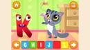 Английский для детей. Английский алфавит. Обучающее видео для детей 4-6 лет.