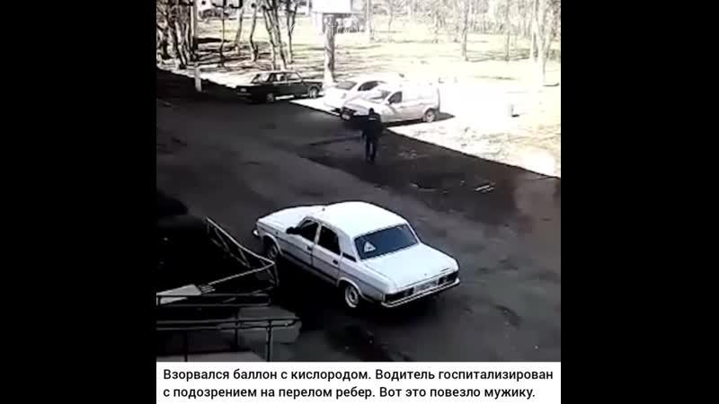 В Нижнекамске автомобиль взорвался вместе с водителем.  Автомобиль Лада Ларгус буквально взлетел на воздух. По предварительным