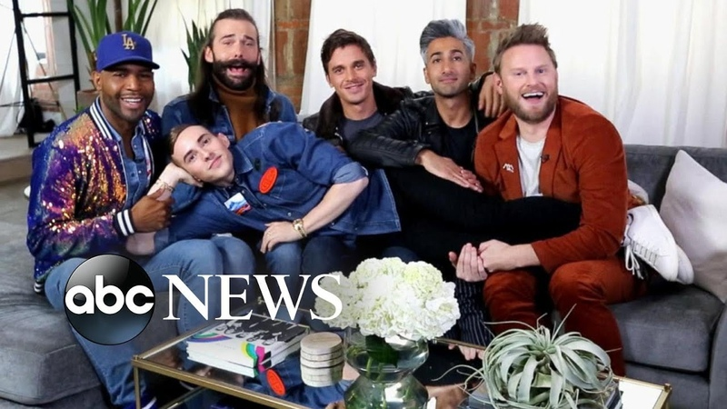 'Queer Eye' cast talks impact of show and new season with Adam Rippon