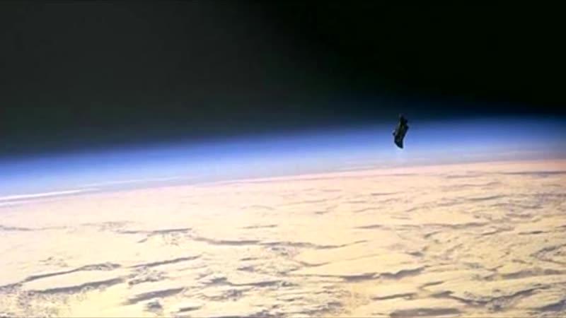 Спутник Черный Принц Видео НАСА