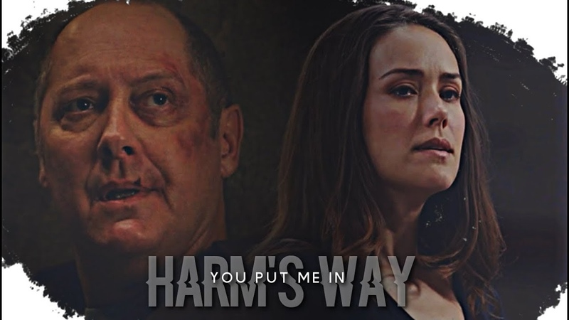 Red and Liz | you put me in harm's way