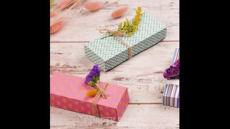 Прелестные подарочные коробочки