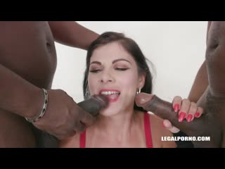 Janice United - IV297 [Legalporno. Anal, Blowjob, DP, Gaping, Interracial, Milf, Threesome]