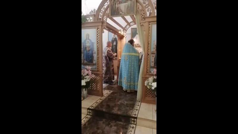 проповедь после чтения Апостола и Евангелия