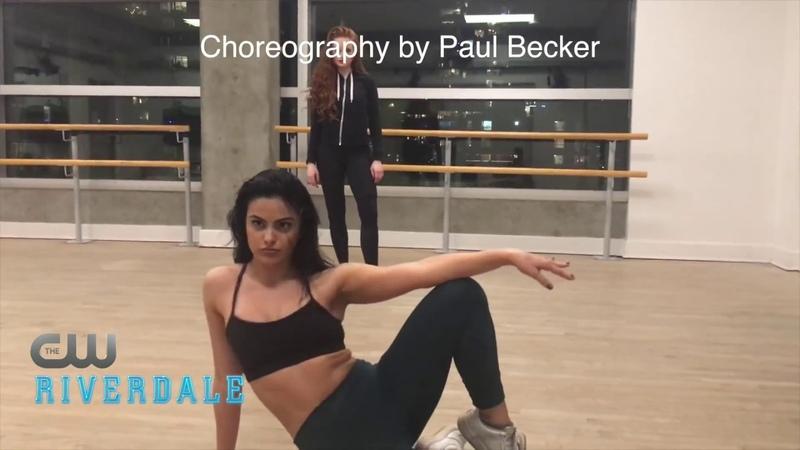 Шерил и Вероника репетиция танца ♡ Репетиции с хореографом ♡ Riverdale ♡ Ривердэйл ♡ Ривердейл