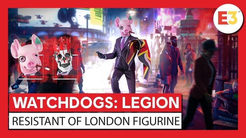 Merchandise - Watch Dogs: Legion The Resistant of London figurine