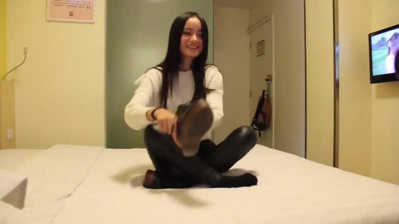 Student Model Feet Tickling