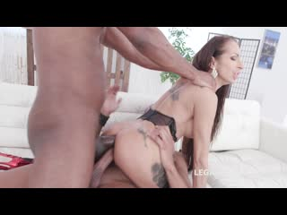 Double Anal Creampie with Valentina Sierra Balls Deep Anal, Gapes, Creampie Swallow GIO1430