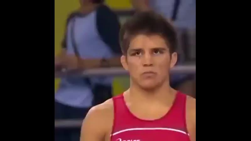 Финальная схватка Генри Сехудо на Олимпийских играх.