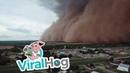 Drone Captures Massive Dust Storm || ViralHog